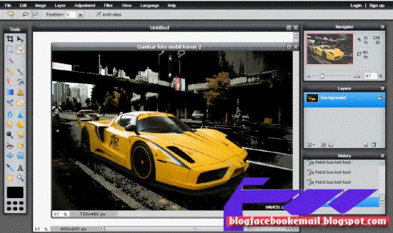 cara edit foto secara online di apps.pixlr.com