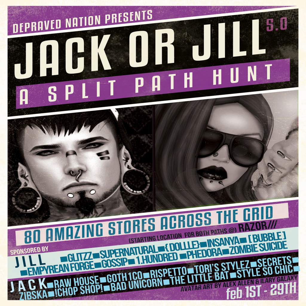 Jack or Jill 5.0 Hunt