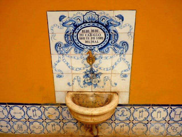 detalle en la real academia de arte ecuestre de Andalucia