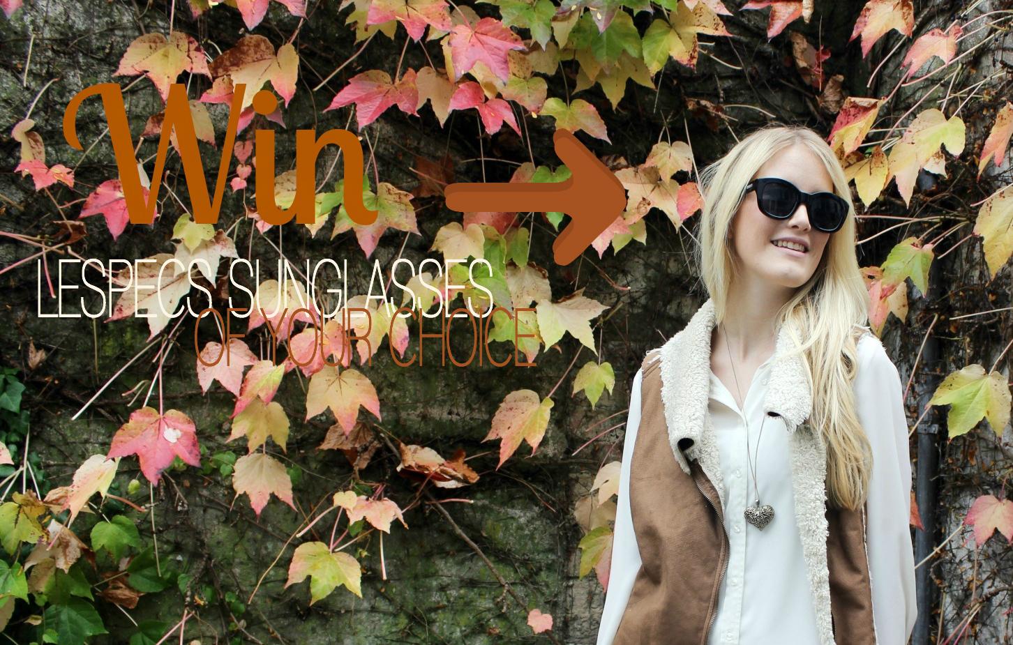 WIN Giveaway TheBlondeLion LeSpecs Sunglasses Sunglassesshop