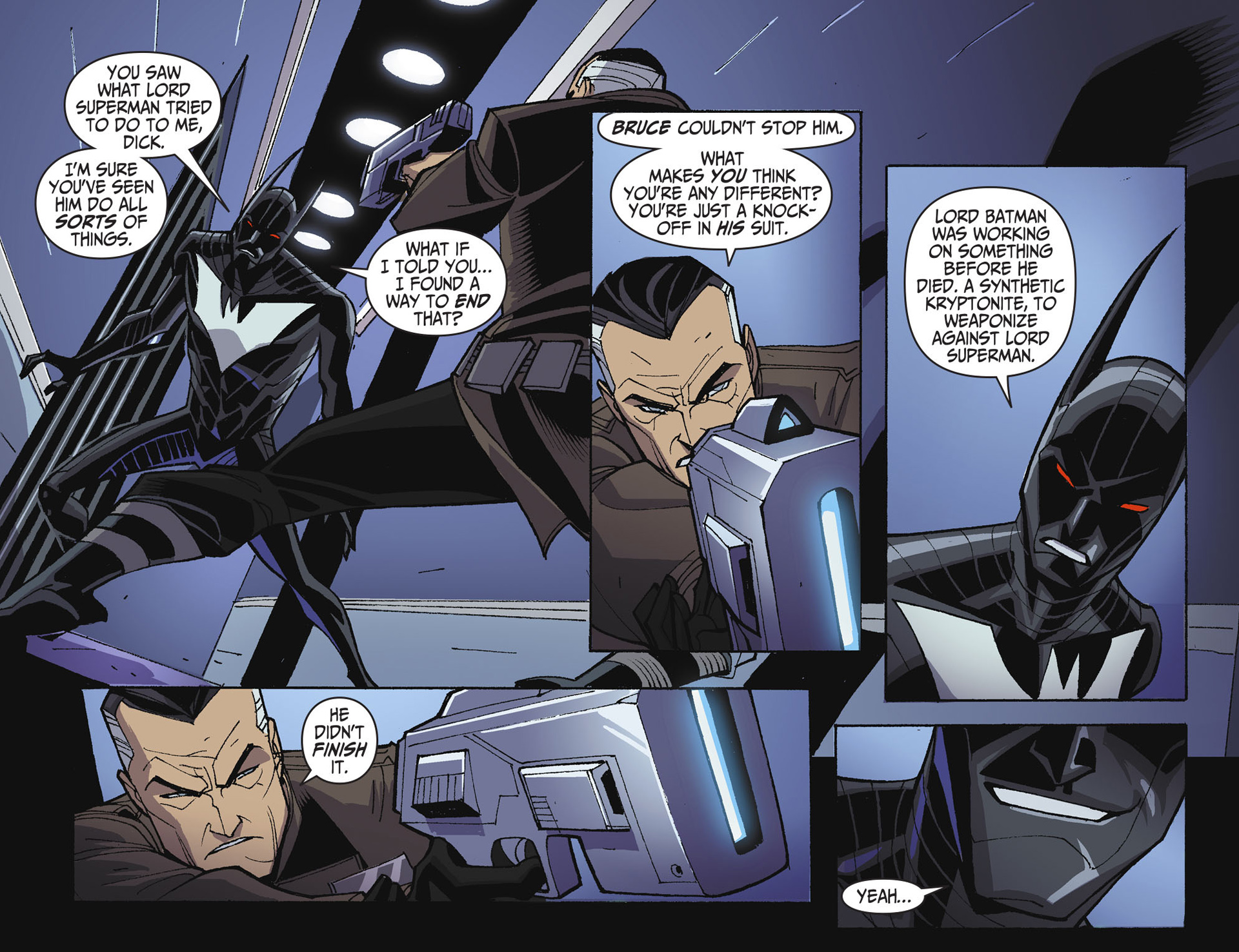 Batman Beyond 2.0 Issue #22 #22 - English 21