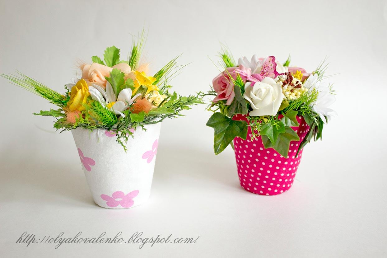 Флористические композиции для садика