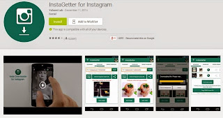 Cara Download Foto & Video Instagram di Android