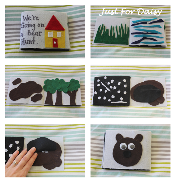 Bear Hunt Felt Book - Just For Daisy