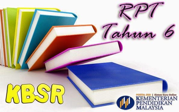 RPT Tahun 6 KBSR Semua Subjek