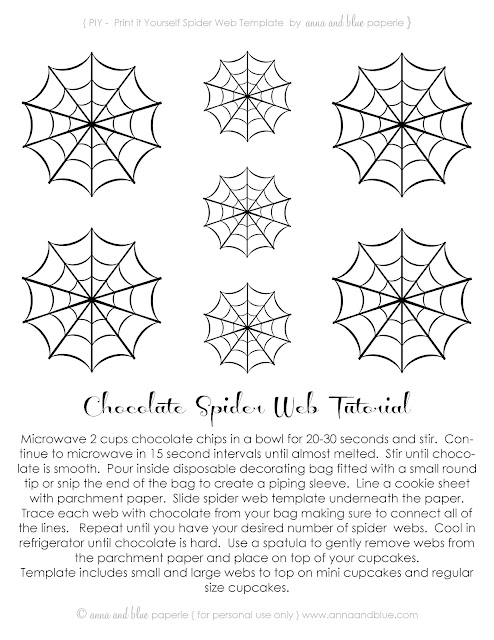 anna and blue paperie free printable spooktacular spider webs. Black Bedroom Furniture Sets. Home Design Ideas