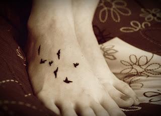 dicas de Tatuagem de Pássaro