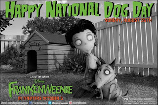 frankenweenie national hot dog day