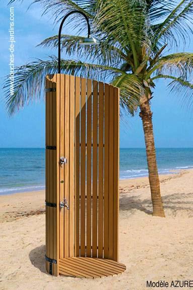 Arquitectura de casas duchas de piscina y exteriores - Duchas para piscina ...