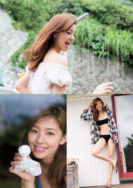 朝比奈彩 Asahina Aya Weekly Playboy 週刊プレイボーイ July 2015 Photos 2
