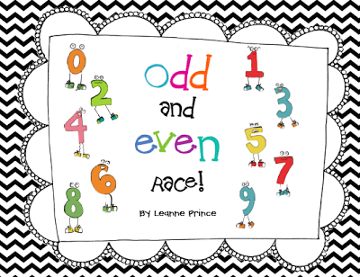 Mrs. Prince and Co.: Odd and Even game and some reindeer/long i ...