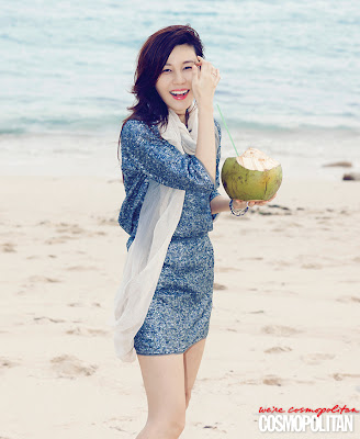 Kim Ha Neul - Cosmopolitan Magazine April Issue 2013
