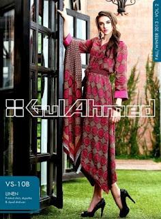 Gul Ahmed Linen Dresses