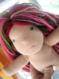 bamboletta custom waldorf doll fig and me dragonflys hollow green goat nanerjoy