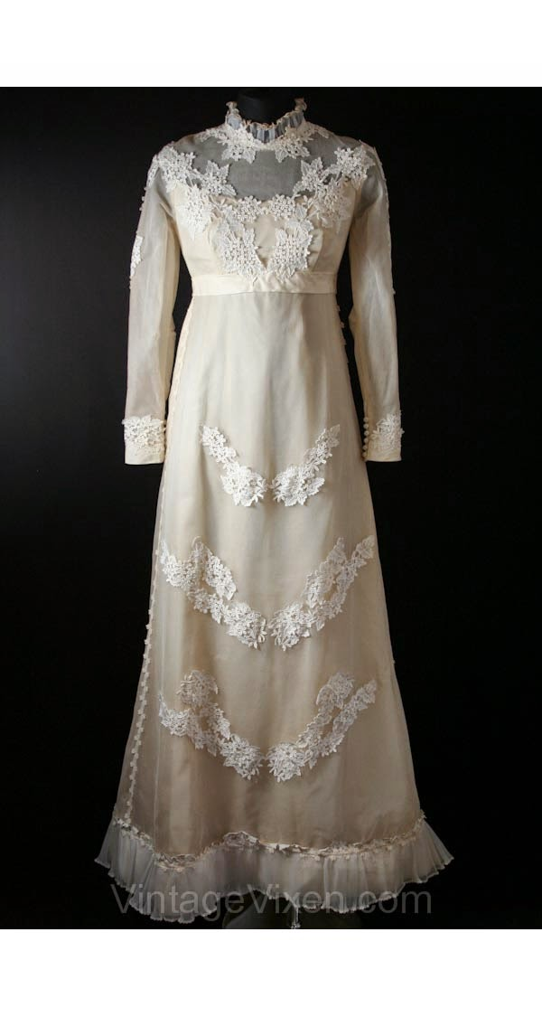 Vintage Vixen Wedding Dress: Affordable Wedding Dresses - Edwardian
