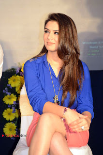 Hansika Motwani Pictures in Pink Mini Skirt at Crazy Movie Audio Launch  0012.jpg
