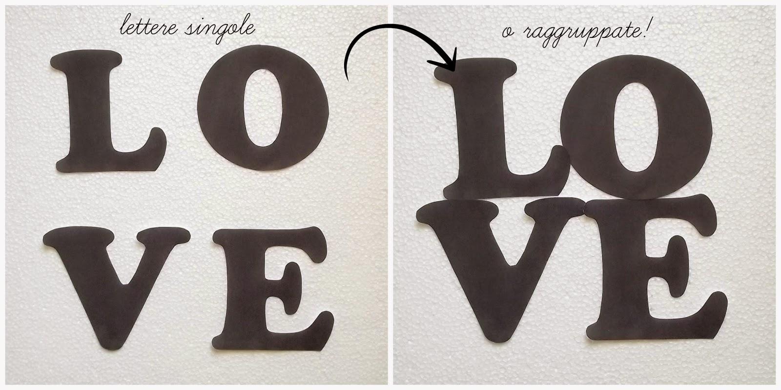 Handmade Valentine: Shabby Chic LOVE letters - Ma Petite ...