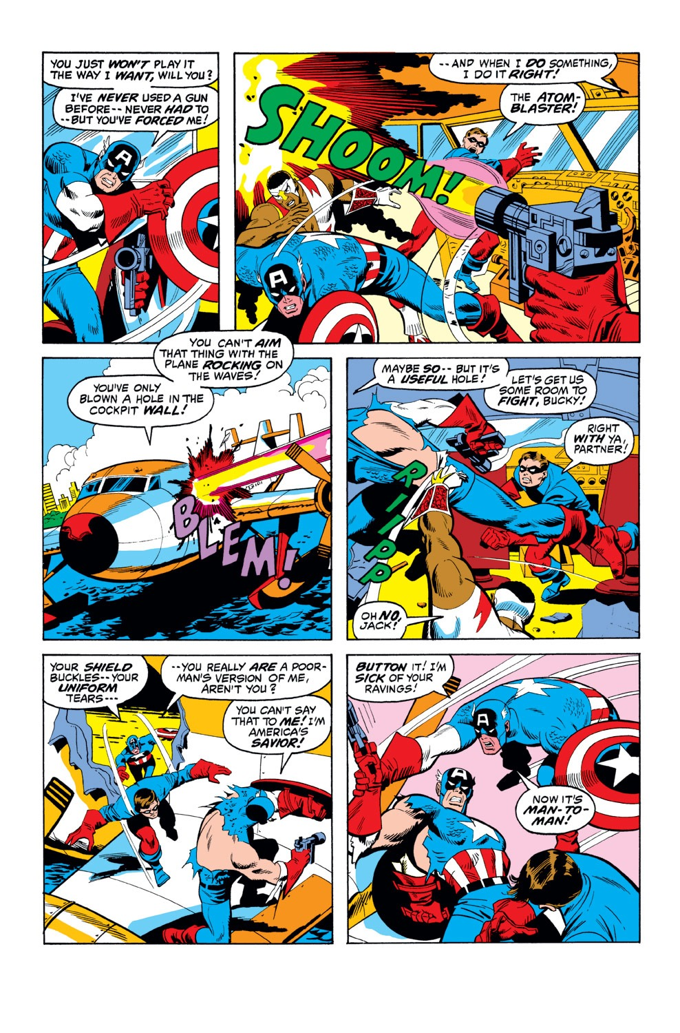 Captain America (1968) Issue #156 #70 - English 5