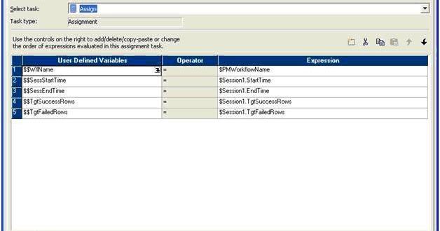 teradata variable assignment