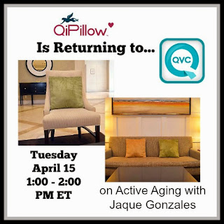 QiPillow is Returning to QVC