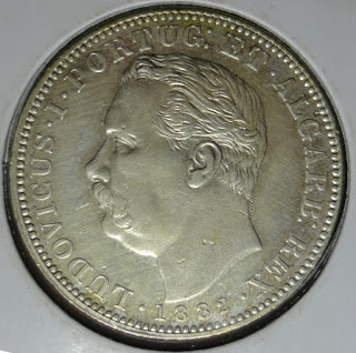 portuguese india one rupee