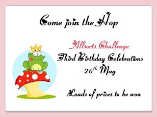 Allsorts Birthday blog hop