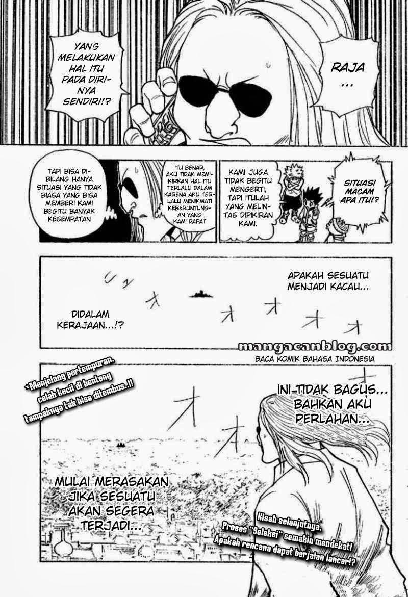 Dilarang COPAS - situs resmi www.mangacanblog.com - Komik hunter x hunter 258 - 1 - 2 259 Indonesia hunter x hunter 258 - 1 - 2 Terbaru 15|Baca Manga Komik Indonesia|Mangacan