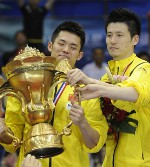 China Juara Sudirman Cup 2011