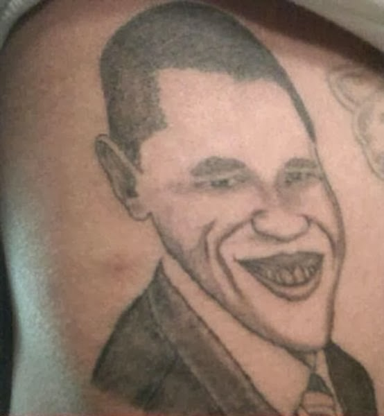 Portrait Tattoo Gone Wrong