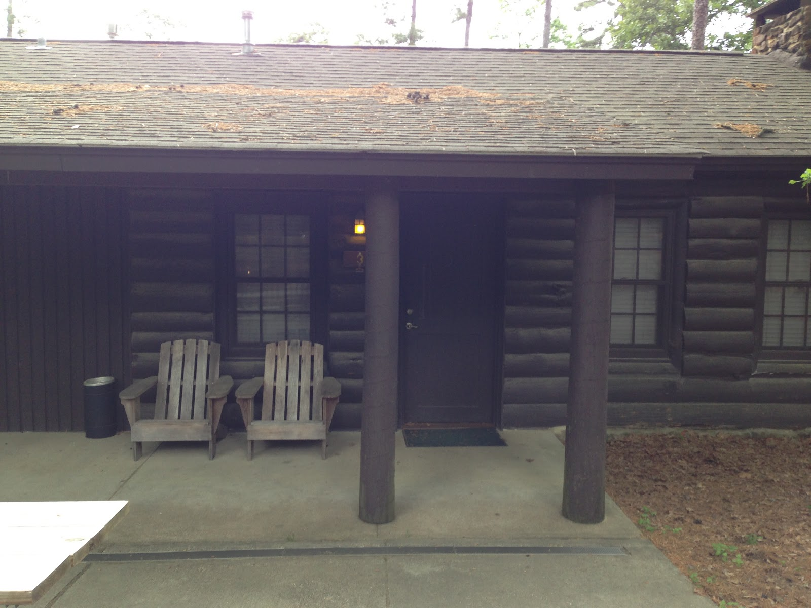 The Front Of Trusty Cabin #3!