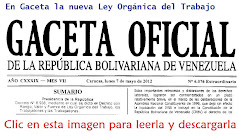 LOTTT Gaceta 6,076