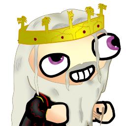 Aerys II, el rey loco fsjal - Juego de Tronos en los siete reinos