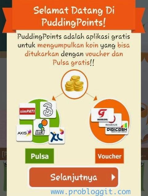 Aplikasi Penghasil Gcash dan Pulsa Gratis Terbaru Pudding Point