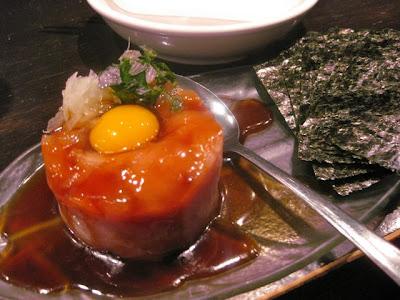 Gyoza King Maguro Yukke