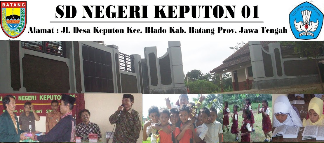 BLOG BERBAGI SD NEGERI KEPUTON 01