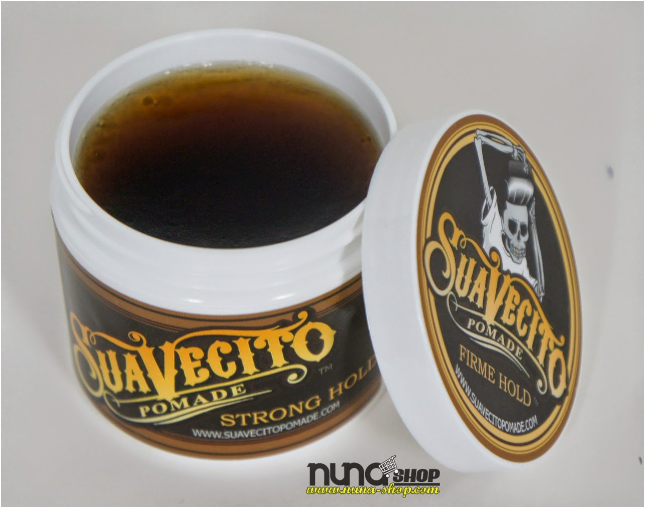 Suavecito Firme Strong Hold Pomade 4 Oz