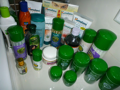 Indie: podsumowanie zakupów kosmetycznych, Himalaya Herbals