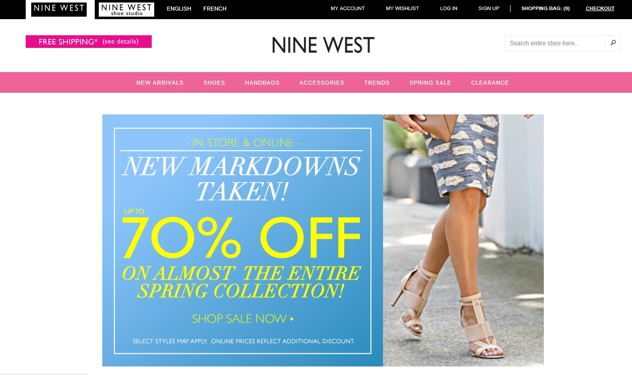 Ninewest coupon code
