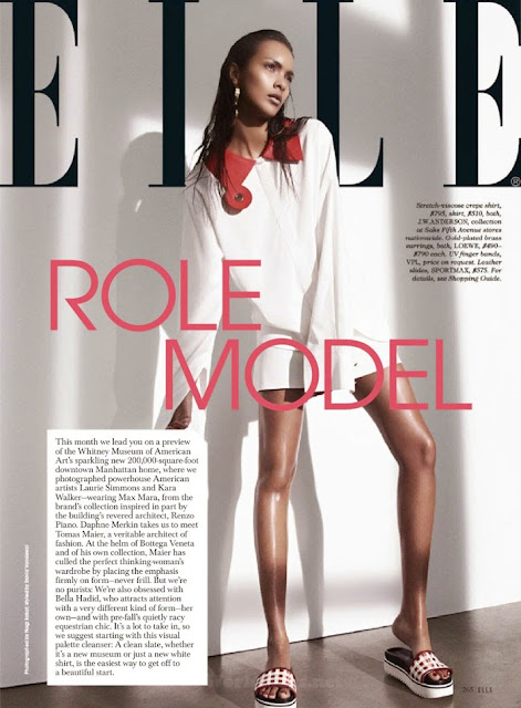 Fashion Model @ Lais Ribeiro By Nagi Sakai For Elle US, May 2015
