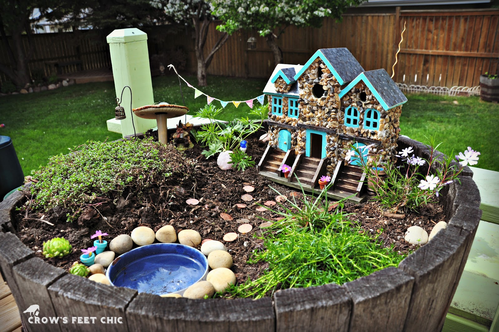 Our Fairy Garden Crow S Feet Chic