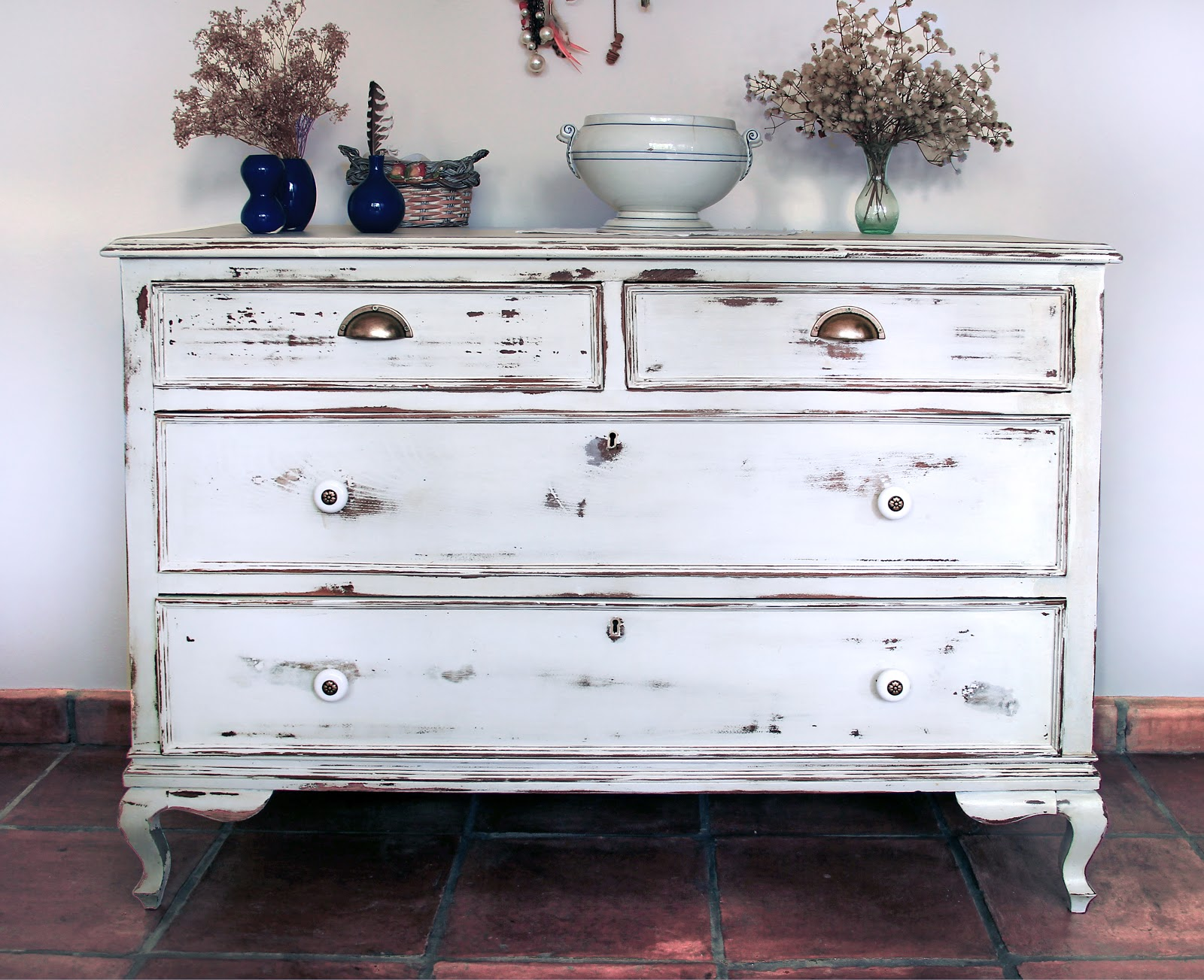 Crea vintage diy tutorial para conseguir un efecto for Muebles y decoracion beltran