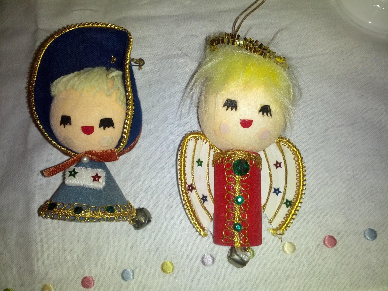 Estate Sale Vintage Christmas Ornaments