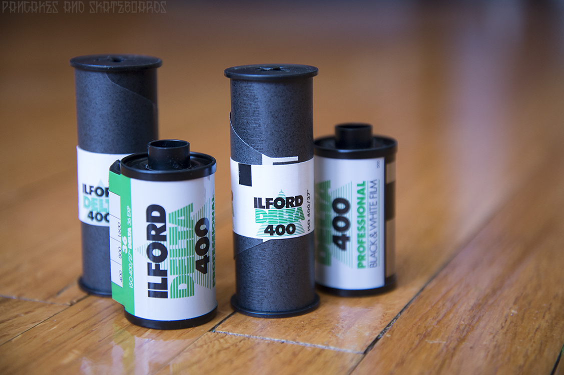 how to tell 35mm film is exposed