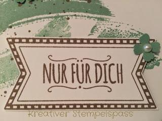 Karte Mit Liebe Geschenkt In Color 2015/2017