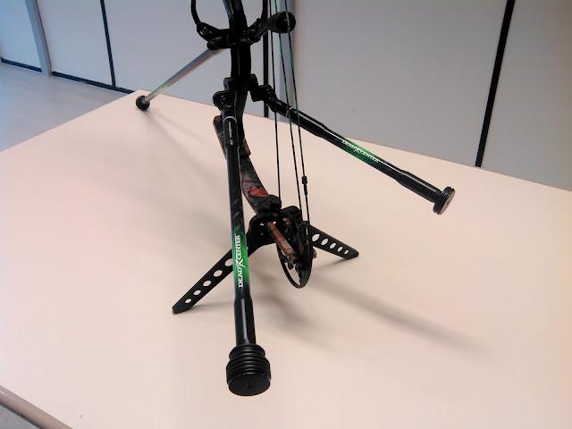 Les Stabilisations Dead Center Archery - La gamme Diamond Series IMG_20160128_152529