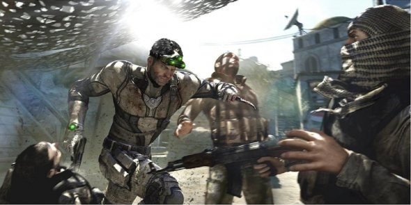 Celular de Tom Clancy Splinter: Blacklist