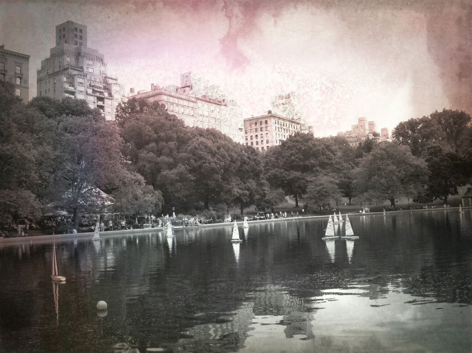 Central Park Conservatory Water