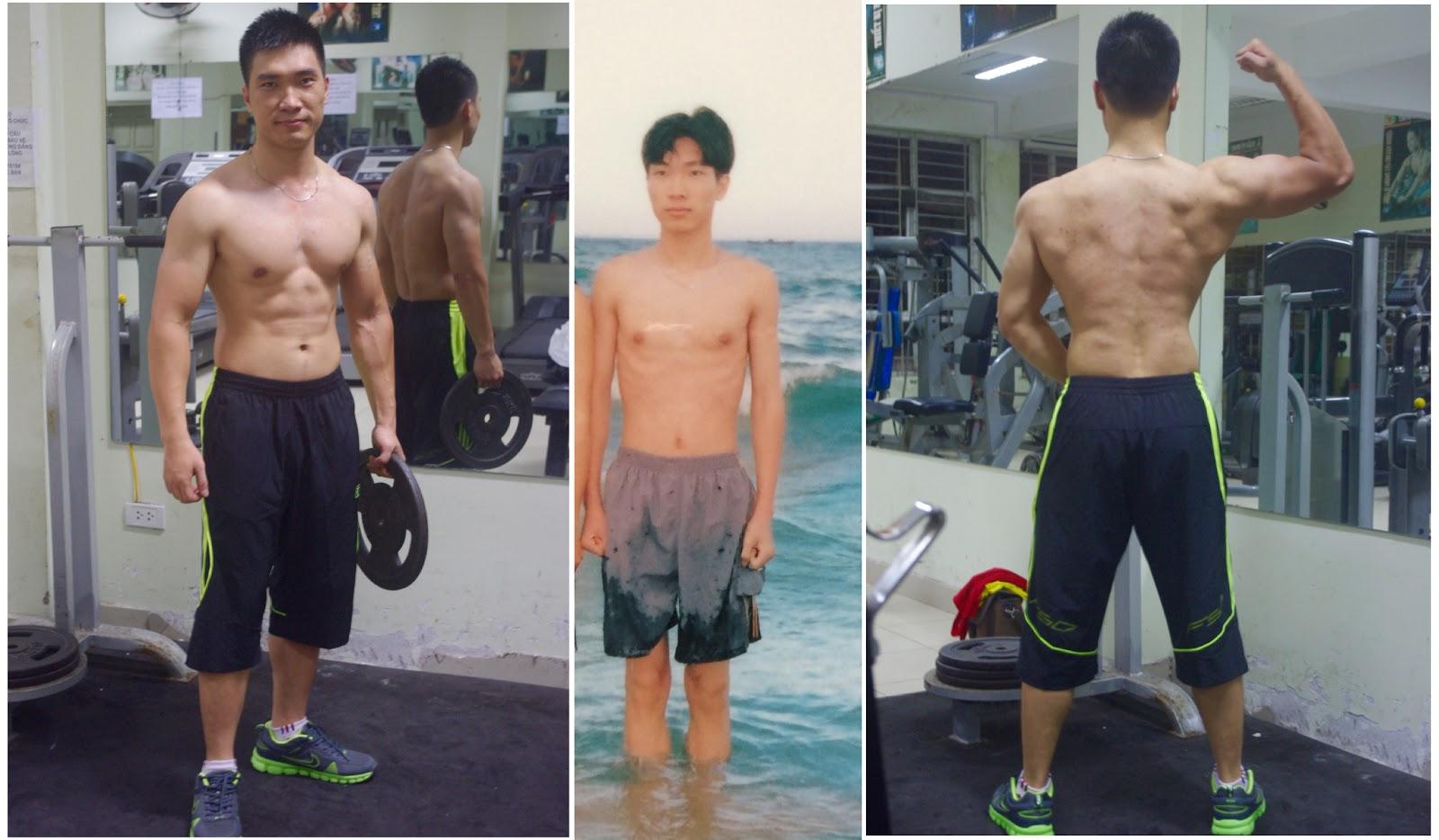 Kết quả hình ảnh cho nam tập gym