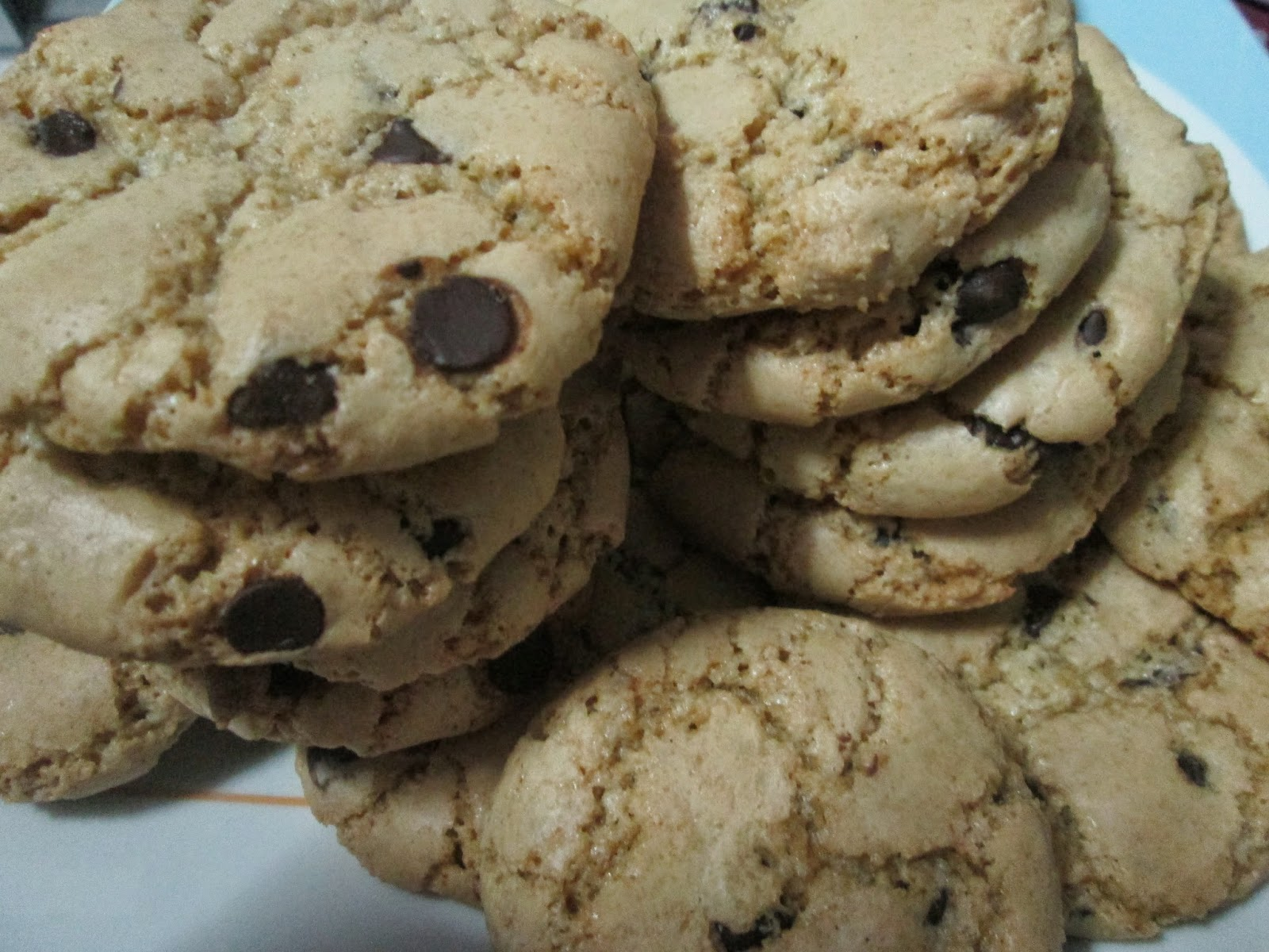 la mejor receta de cookies de chocolate