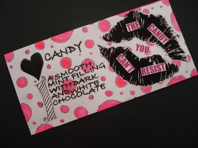 a faithful attempt: Chocolate Bar Wrapper Design